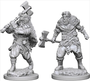 Dungeons & Dragons - Nolzur's Marvelous Unpainted Minis: Human Male Barbarian | Games