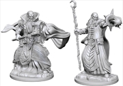 Dungeons & Dragons - Nolzur's Marvelous Unpainted Minis: Human Male Wizard | Games