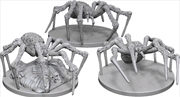 Dungeons & Dragons - Nolzur's Marvelous Unpainted Minis: Spiders | Games