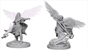 Dungeons & Dragons - Nolzur's Marvelous Unpainted Minis: Aasimar Female Wizard | Games