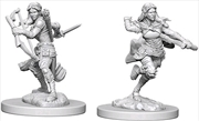 Dungeons & Dragons - Nolzur's Marvelous Unpainted Minis: Air Genasi Female Rogue | Games
