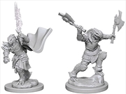 Dungeons & Dragons - Nolzur's Marvelous Unpainted Minis: Dragonborn Female Fighter | Games