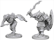 Dungeons & Dragons - Nolzur's Marvelous Unpainted Minis: Dragonborn Male Fighter | Games
