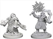 Dungeons & Dragons - Nolzur's Marvelous Unpainted Minis: Dwarf Female Cleric | Games