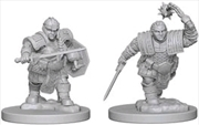 Dungeons & Dragons - Nolzur's Marvelous Unpainted Minis: Dwarf Female Fighter | Games