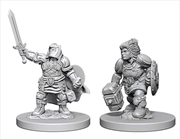 Dungeons & Dragons - Nolzur's Marvelous Unpainted Minis: Dwarf Female Paladin | Games