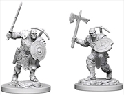 Dungeons & Dragons - Nolzur's Marvelous Unpainted Minis: Earth Genasi Male Fighter | Games