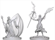 Dungeons & Dragons - Nolzur's Marvelous Unpainted Minis: Elf Female Wizard | Games