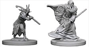Dungeons & Dragons - Nolzur's Marvelous Unpainted Minis: Elf Male Druid | Games