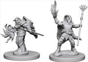 Dungeons & Dragons - Nolzur's Marvelous Unpainted Minis: Elf Male Wizard | Games