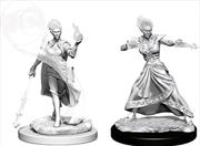 Dungeons & Dragons - Nolzur's Marvelous Unpainted Minis: Fire Genasi Female Wizard | Games