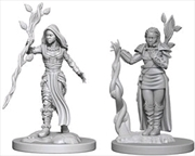 Dungeons & Dragons - Nolzur's Marvelous Unpainted Minis: Human Female Druid   Games