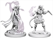 Dungeons & Dragons - Nolzur's Marvelous Unpainted Minis: Tiefling Female Sorcerer   Games