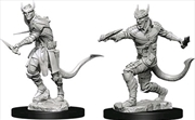 Dungeons & Dragons - Nolzur's Marvelous Unpainted Minis: Tiefling Male Rogue   Games