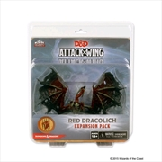 Dungeons & Dragons - Attack Wing Wave 5 Red Dracolich | Games