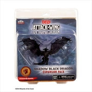Dungeons & Dragons - Attack Wing Wave 2 Black ShadowDragon Expansion Pack | Games