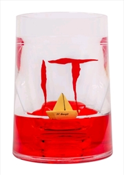 It (2017) - SS Georgie Floating Boat Liquid Tumbler | Homewares