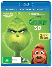 Grinch | 3D + 2D Blu-ray + Digital Copy, The