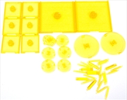 Dungeons & Dragons - Attack Wing Base & Pegs Set Yellow | Games