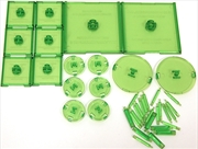 Dungeons & Dragons - Attack Wing Base & Pegs Set Green | Games