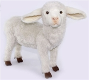 Lamb Standing White 47cm L | Toy