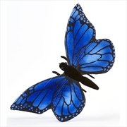 Butterfly Blue 13cm L   Toy