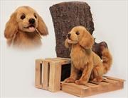 Golden Retriever Brown 28cm H   Toy