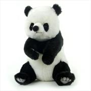 Panda Bear Sitting 27cm H | Toy