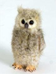Owl Screech 12cm H | Toy
