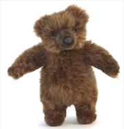 Brown Bear Cub Stand Mini 20   Toy