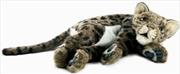 Leopard Cub Brown Printed 40cm | Toy