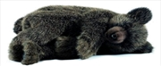 Brown Bear Sleeping 40cm H   Toy