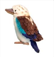 Blue Winged Kookaburra 17cm H   Toy