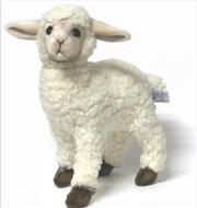Sheep Kid White 28cm L | Toy