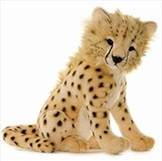 Cheetah Cub Sitting 32cm L   Toy
