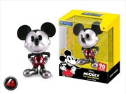 "Mickey Mouse - 90th Mickey Black & White with Red Trousers 4"" Metals 