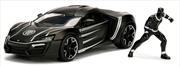 Black Panther - Lykan Hypersport Hollywood Rides 1:24 Scale Diecast Vehicle