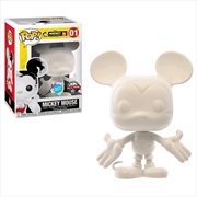 Mickey Mouse - 90th Mickey Mouse (DIY) US Exclusive Pop! Vinyl [RS] | Pop Vinyl