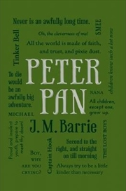Peter Pan: Word Cloud Classics | Paperback Book