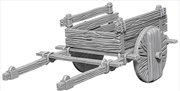 Wizkids - Deep Cuts Unpainted Miniatures: 2 Wheel Cart