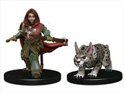 Wardlings - Girl Ranger & Lynx Pre-Painted Minis