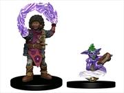 Wardlings - Girl Wizard & Genie Pre-Painted Minis