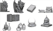 WizKids - Deep Cuts Unpainted Miniatures: Wizards Room