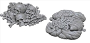 Wizkids - Deep Cuts Unpainted Miniatures: Pile of Bones & Entrails | Games