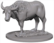 Wizkids - Deep Cuts Unpainted Miniatures: Oxen   Games