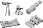 WizKids - Deep Cuts Unpainted Miniatures: Navigators Pack   Games