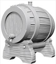 Wizkids - Deep Cuts Unpainted Miniatures: Keg Barrel   Games