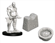 Wizkids - Deep Cuts Unpainted Miniatures: Executioner & Chopping Block | Games
