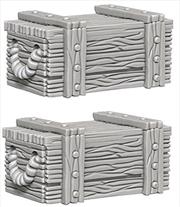 Wizkids - Deep Cuts Unpainted Miniatures: Crates