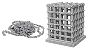 Wizkids - Deep Cuts Unpainted Miniatures: Cage & Chains